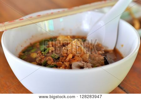 Tom yum soup hot and sour soup
