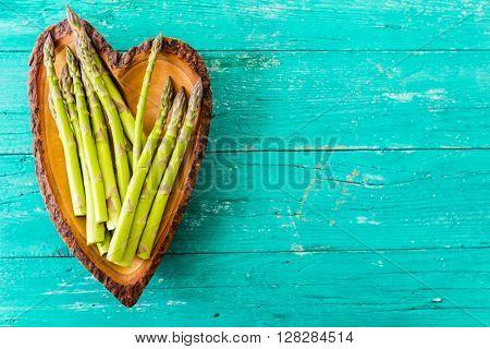 Asparagus - fresh green asparagus