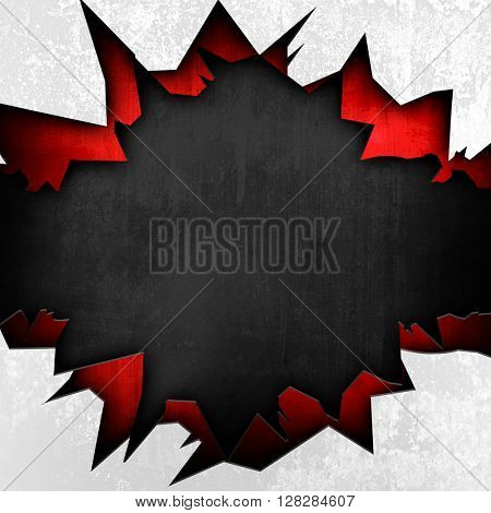 abstract crack metal background