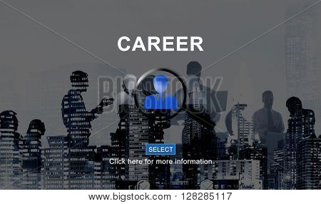 Career Hiring Occupation Professional Recruiting Concept