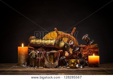 Still Life With Treasures