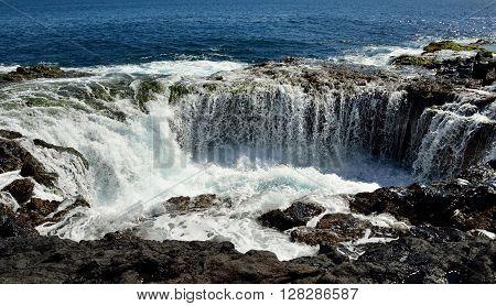 Waterfall in
