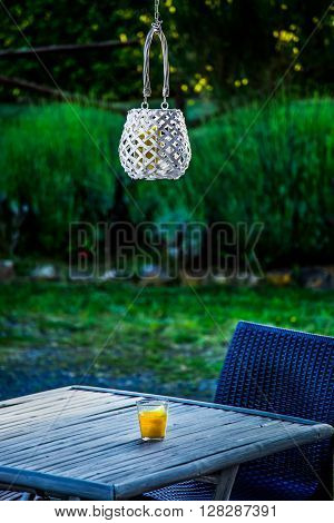 Candle And Lantern