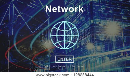 Network Networking Online Internet Homepage Concept