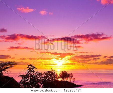 Seascape Sea Evening