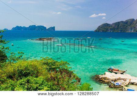 Heaven Seascape Palm Island