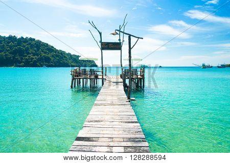 Contemplating the Sea Boardwalk Admire
