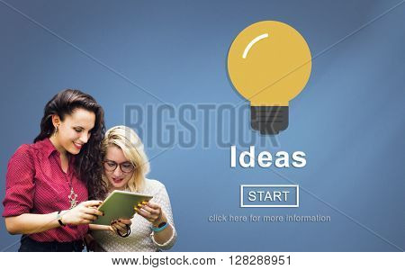 Ideas Knowledge Innovation Aspiration Inspiration Concept