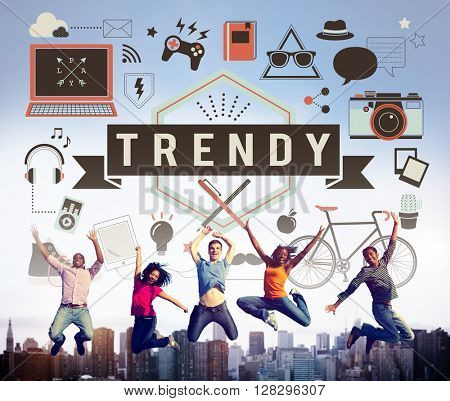 Trend Trendy Design Modern Style Fashion Latest Concept