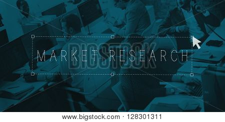 Market Research Information Strategy Analysis Concept
