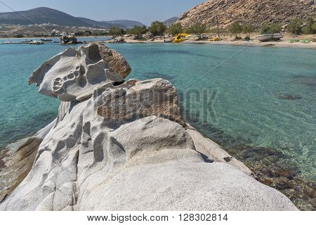 Amazing Seascape of kolymbithres beach, Paros island, Cyclades, Greece