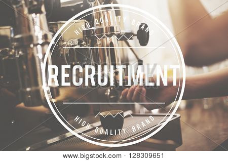 Recruitment Hiring Manpower Headhunting Strategy Concept