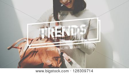 Trends Style Fashion Design Modern New Hot Concept