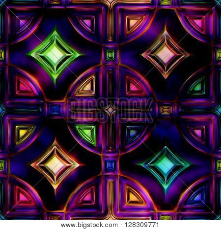 Seamless texture stained-glass window See more seamless backgrounds in my portfolio