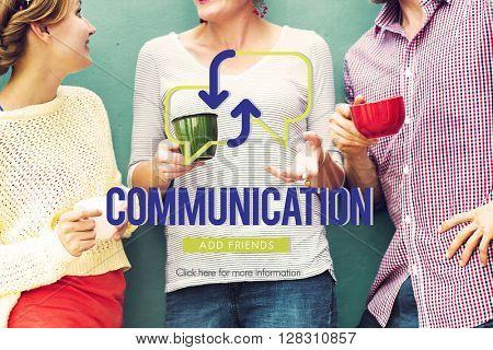 Communication Diversity Conversation Enjoyment Concept