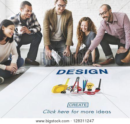Design Designer Creativity Instrument Work Concept