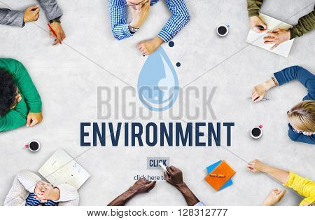 Energy Environment Ecology Sustainable Concept