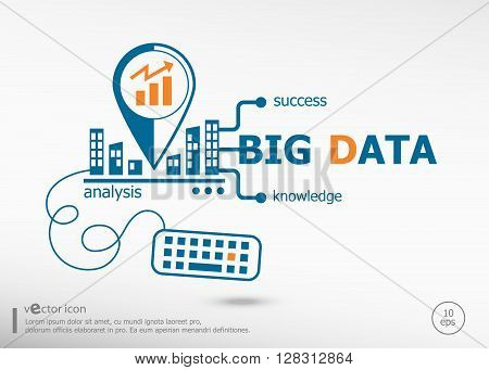 Big Data Concept For Application Development, Creative Process.