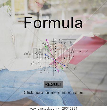 Formula Math Algebra Course Concept