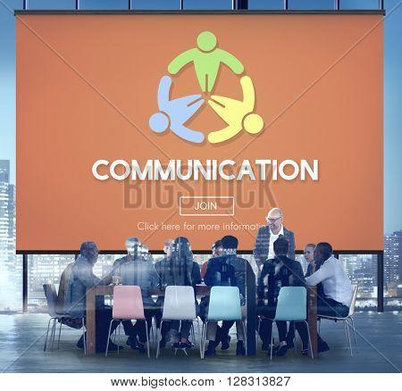Communication Connect Conversation Discussion Concept