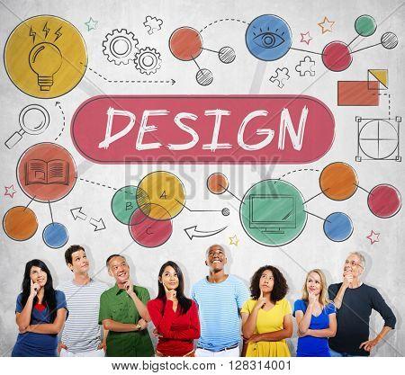 Design Creativity Ideas Innovation Planning Concept