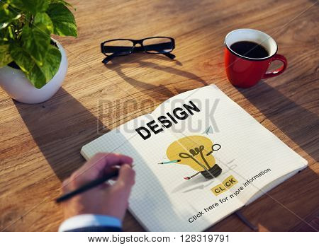 Design Creative Draft Drawing Ideas Object Plan Concept