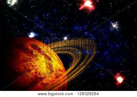 Planet Deep In Space