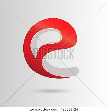 MONOGRAM E , FOR WEB RELATED USE , VECTOR LOGO / ICON