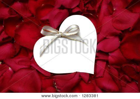 Rose Petals Gift Tag