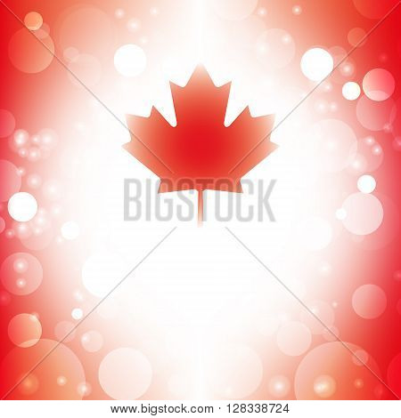 Canada background abstract canadian flag vector illustration
