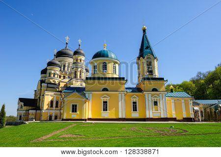 Christian Orthodox Church in the Hancu Monastery, Republic of Moldova
