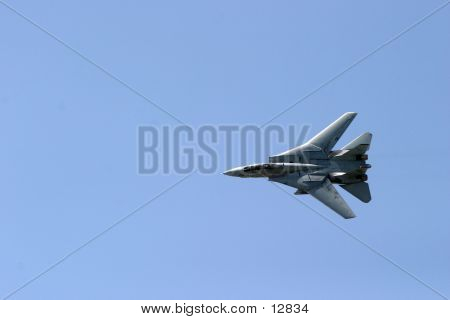 F14 Tomcat In Flight