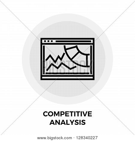 Competitive Analysis Icon Vector. Competitive Analysis Icon Flat. Competitive Analysis Icon Image. Competitive Analysis Line icon. Competitive Analysis Icon JPEG. Competitive Analysis Icon EPS.