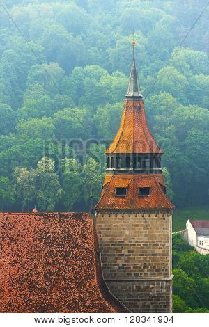 Black Church in Brasov, Transylvania, Romania