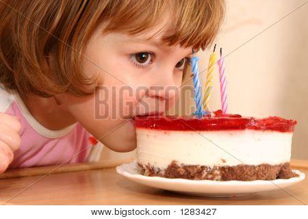 Eating My Birthday Cake