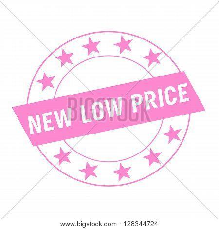 NEW LOW PRICE bonus white wording on pink Rectangle and Circle pink stars