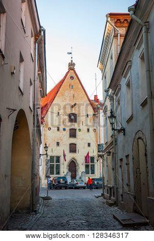 Tallinn Old Town, Estonia