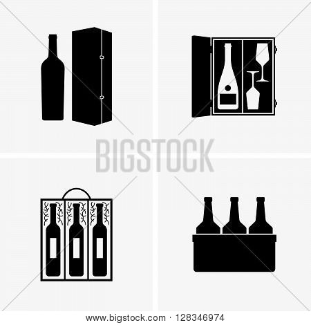 Wine gift boxes ( shade pictures )