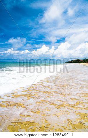 Sunshine Surf Vacation Wallpaper