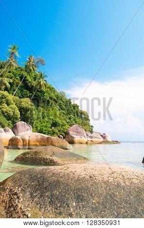 Beautiful Sea Blue Seascape