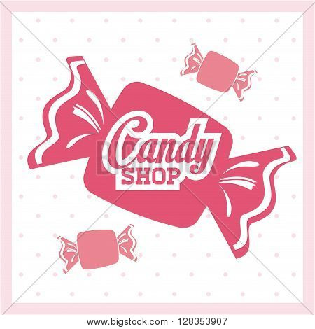 Candy concept with icon design, vector illustration 10 eps graphic.