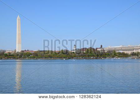 The Washington Monument in Washington, DC (USA)