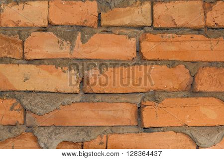 Masonry Wall With Reinforcing