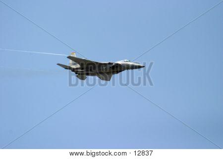 F15 Eagle In Flight