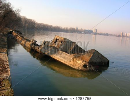 Old Sunken Vessel