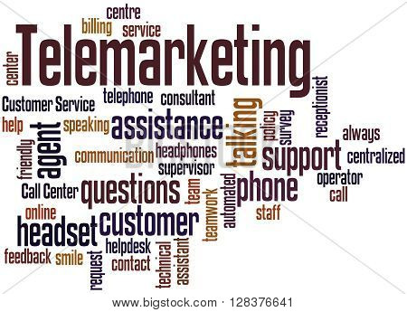 Telemarketing, Word Cloud Concept 3