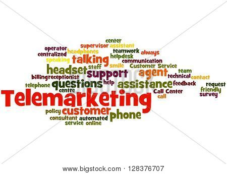 Telemarketing, Word Cloud Concept 5