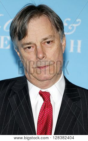 Director Whit Stillman at the Los Angeles premiere of 'Love And Friendship' held at the DGA Theater in Hollywood, USA on May 3, 2016.
