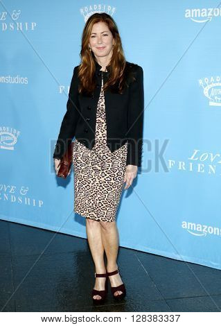 Dana Delany at the Los Angeles premiere of 'Love And Friendship' held at the DGA Theater in Hollywood, USA on May 3, 2016.