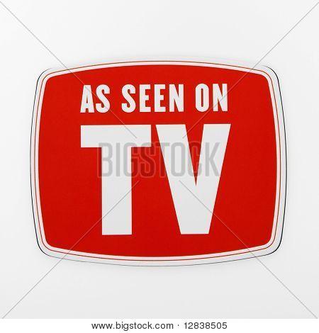 Wie im TV-Zeichen.